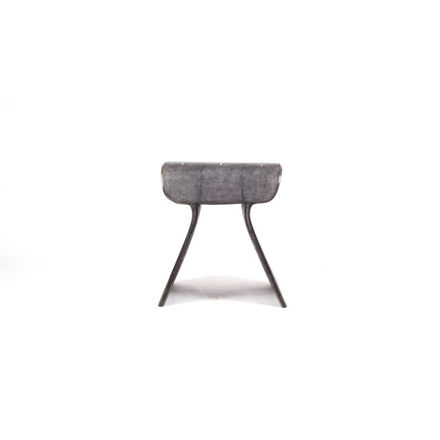 The dandy stool in black shagreen is a chic seating piece for any space. The clean lines make it an adaptable piece and...