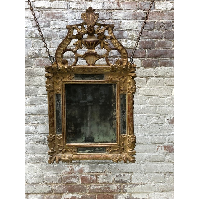 Louis XIV 18th Century Louis XIV Mirror For Sale - Image 3 of 13