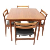 Image of Mid Century Modern Frem Rojle Dining Set Table and 4 Chairs | For Sale