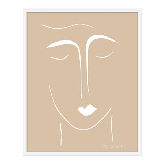 "Medium ""The Moderns II in Camel"" Print by Rob Delamater, 25"" X 31"" For Sale"