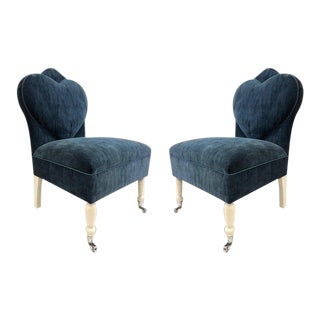 Pair of Flavor Custom Design Lounge Chairs For Sale