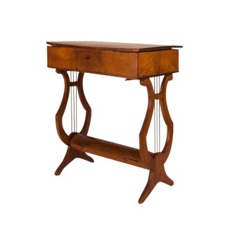 Italian Cherry Neoclassical Work Table