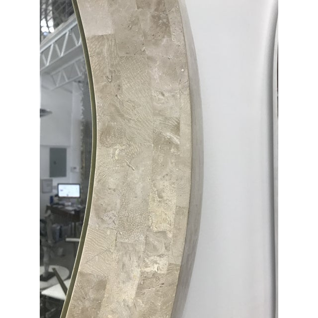Robert Marcius for Casa Bique Tessellated Stone Mirror For Sale In Miami - Image 6 of 9