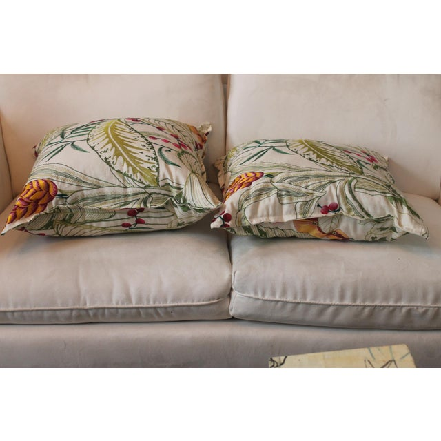 Osborne & Little Sumatra Fabric Pillows - A Pair For Sale In New Orleans - Image 6 of 8