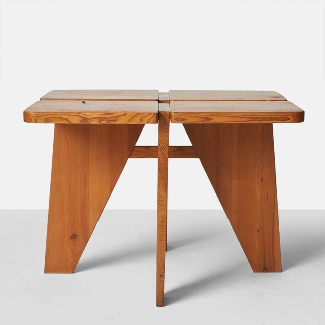 Stockmann Orno 1960s Lisa Johansson Pape Dining Table and Stools - Set of 4 For Sale - Image 4 of 9