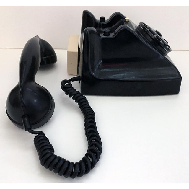 Bakelite Telephone With Adapter For Sale - Image 5 of 9