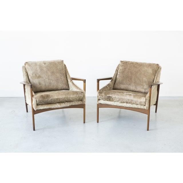 Ib Kofod-Larsen Lounge Chairs - A Pair - Image 2 of 11
