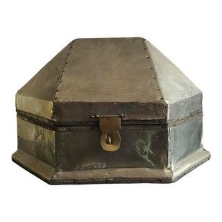 Tin Lidded Box For Sale