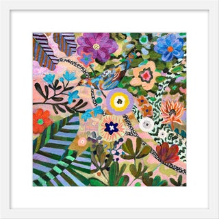 "Small ""At Springtime"" Print by Martyna Zoltaszek, 19"" X 19"" For Sale"