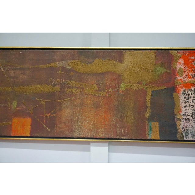 Abstract Painting by Gyorgy Kepes For Sale - Image 4 of 9