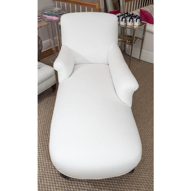 White French Chaise For Sale - Image 8 of 9