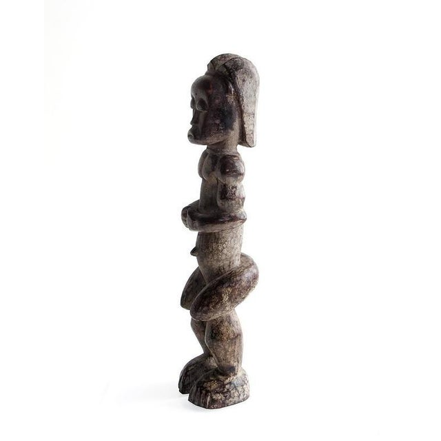 20th Century African Fang Sculpture of Male Figure For Sale - Image 4 of 6