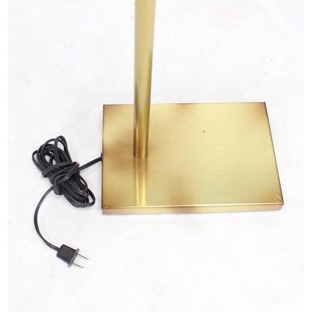 Mid 20th Century Adjustable Mid-Century Modern Brass Floor Lamp George Kovacs For Sale - Image 5 of 9
