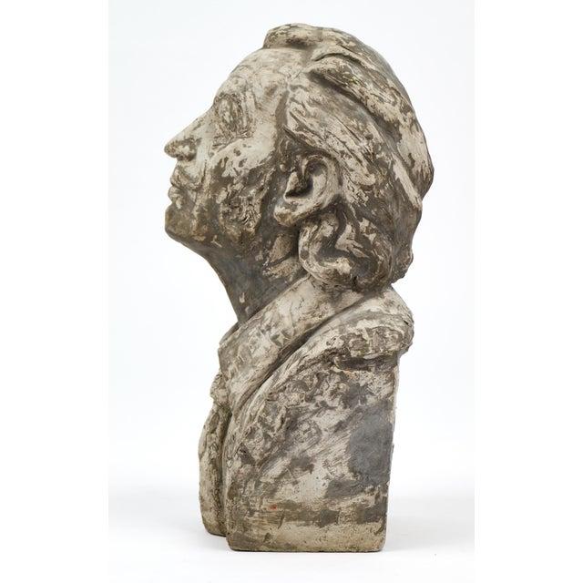 Salvador Dali Vintage Stone Sculpture Bust For Sale In Austin - Image 6 of 10