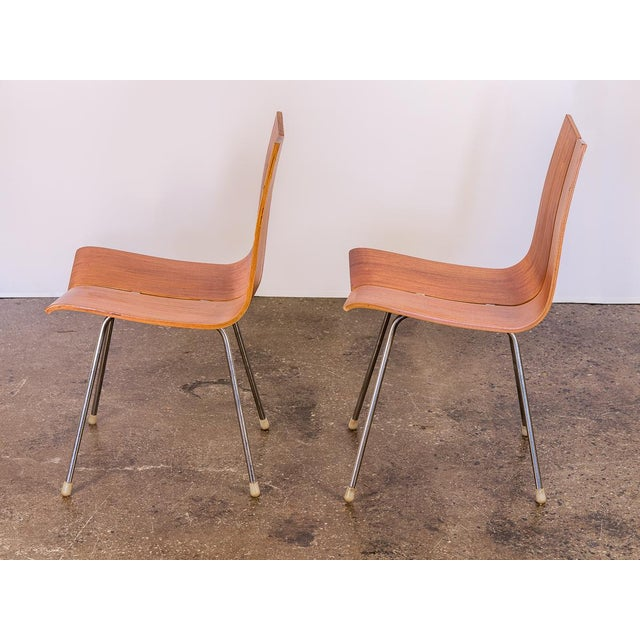 Hans Bellmann Hans Bellmann GA Molded Dining Chairs - a Pair For Sale - Image 4 of 11