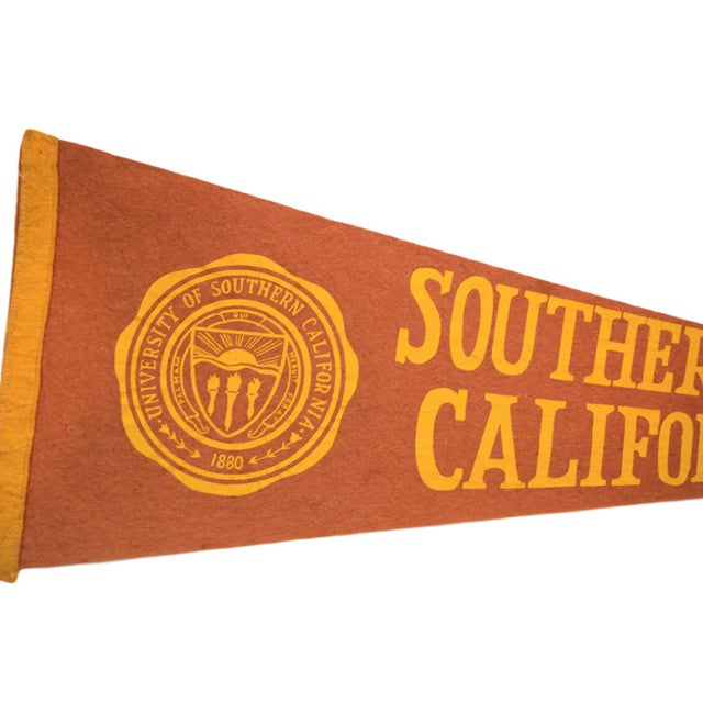 Americana University of Southern California Felt Flag For Sale - Image 3 of 3