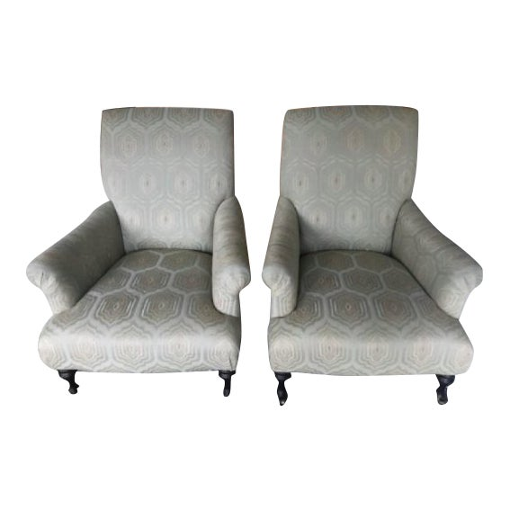 Modern Mitchell Gold+Bob Williams Rebecca Chairs - A Pair For Sale