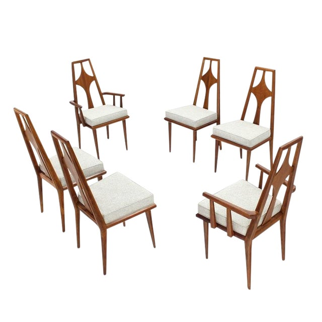 ec8c49ca8d14e 1960s Vintage Swedish Dining Chairs Set of 6 For Sale - Image 12 of 12