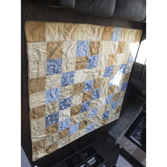 Sherry Koppel Designs Handmade King Size Quilt or Wall Hanging For Sale - Image 12 of 12