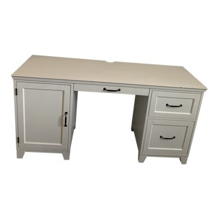 Pottery Barn Desk With Chair For Sale