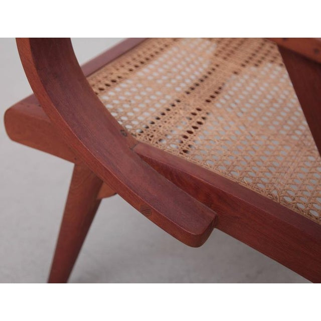 Pair of Danish Solid Teak Studio Lounge Chairs For Sale - Image 10 of 11