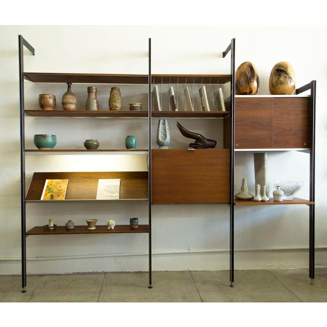 Herman Miller George Nelson for Herman Miller CSS Wall Unit For Sale - Image 4 of 9
