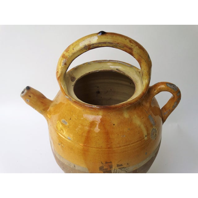 Antique French Pitcher Cruche For Sale - Image 4 of 10