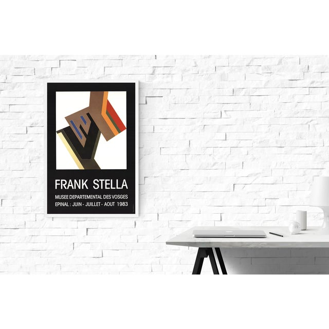 Modern Frank Stella-Musee Departemental Des Vosges-1983 Poster For Sale - Image 3 of 3