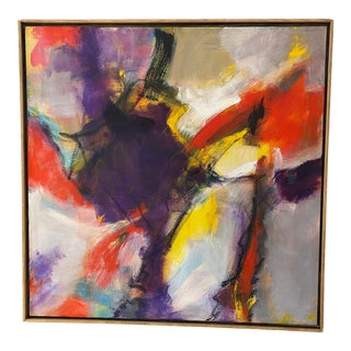 Abstract Expressionist Painting by Marlene Bremer For Sale