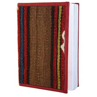 Kilim Journal Coffee Brown Stripes