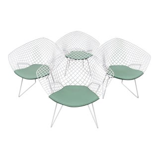 Harry Bertoia for Knoll Diamond Lounge Chairs - Set of 4