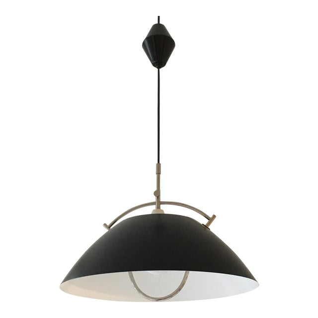 Hans wegner the pendant retractable ceiling light chairish hans wegner the pendant retractable ceiling light mozeypictures Image collections
