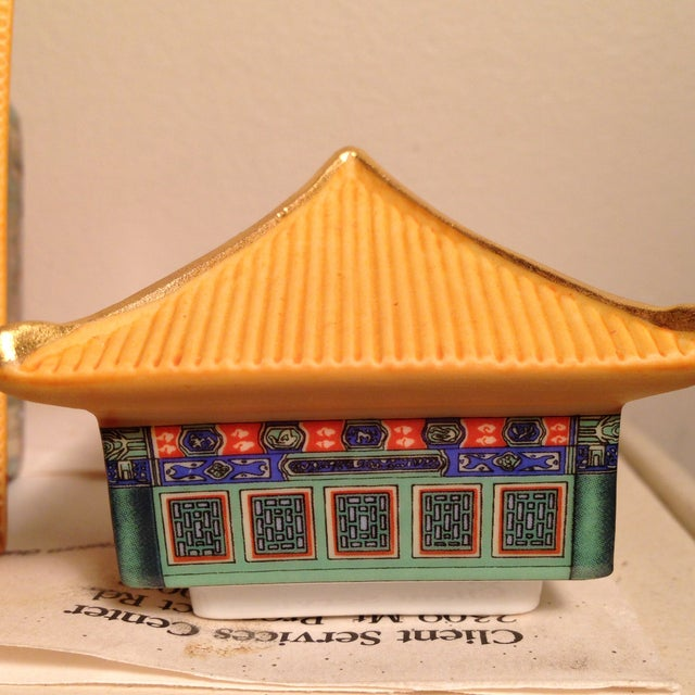 Green Forbidden City Music Box Collection For Sale - Image 8 of 9