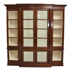 Image of Newly Made Mahogany Bookcases and Étagères
