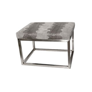 Chris Croc Suede Grey Bench For Sale