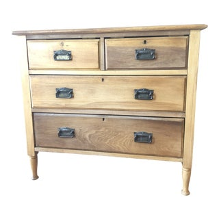 Late 19th Century Satinwood Chest of Drawers For Sale