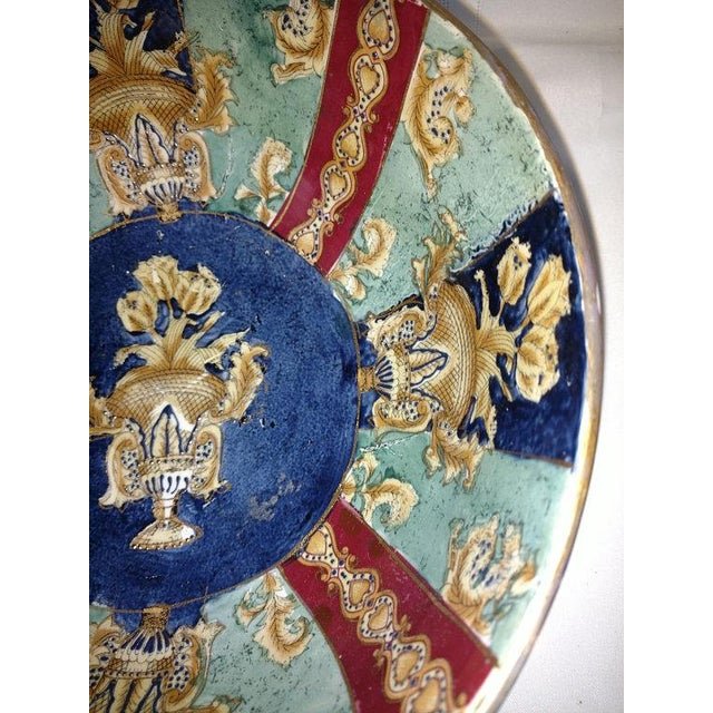 Asian Chinese Export Hand Painted Enamel Porcelain Bowl For Sale - Image 3 of 7