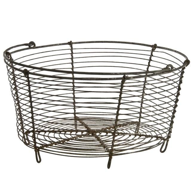 French Wirework Basket - Image 2 of 3