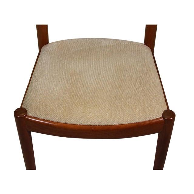 6 Danish Teak Chairs by Niels Koefoeds For Sale In Atlanta - Image 6 of 10