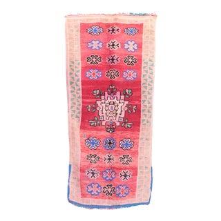 """Boujad Vintage Moroccan Rug -- 3'7"""" x 8'0"""""""