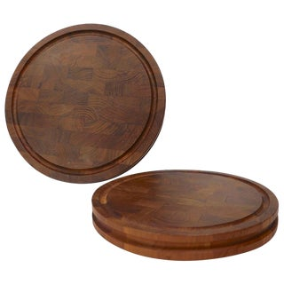 2 Danish Cutting Boards Attributed to Quistgaard for Dansk For Sale