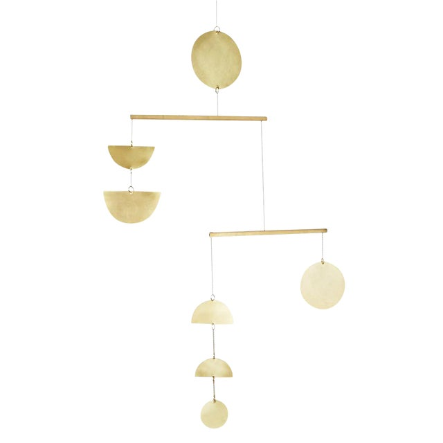 Articulating Brass Mobile - Image 1 of 5