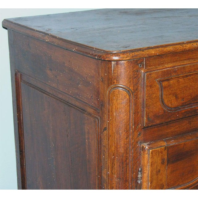 French French Walnut Buffet For Sale - Image 3 of 11