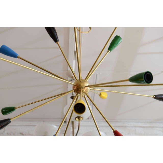 Sputnik Chandelier with 18 Shades - Image 8 of 8