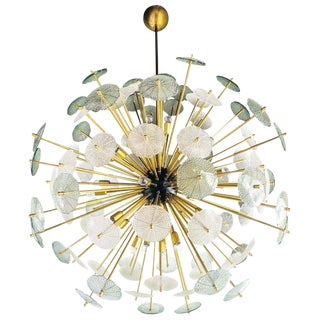 Large Parasole Sputnik Chandelier by Fabio Ltd For Sale