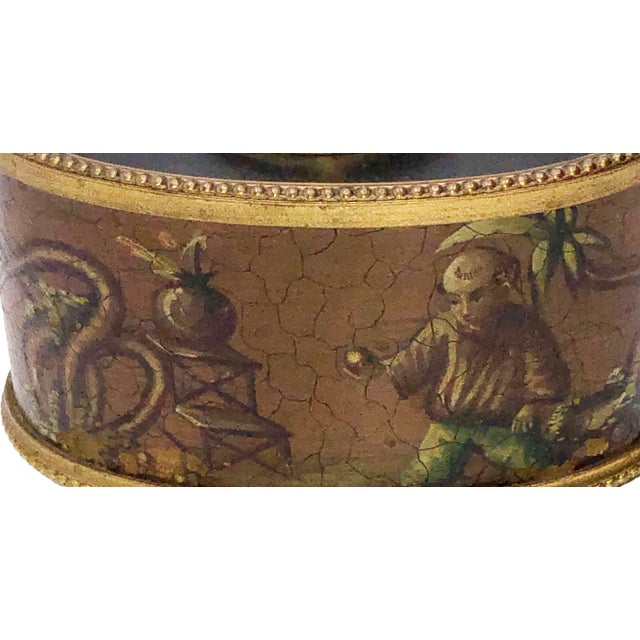 Antique French Chinoiserie Ink Well For Sale - Image 4 of 10