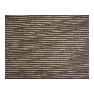 Romo Zinc Tideline Mercury Gray Velvet Upholstery Fabric- 4 1/2 Yards For Sale