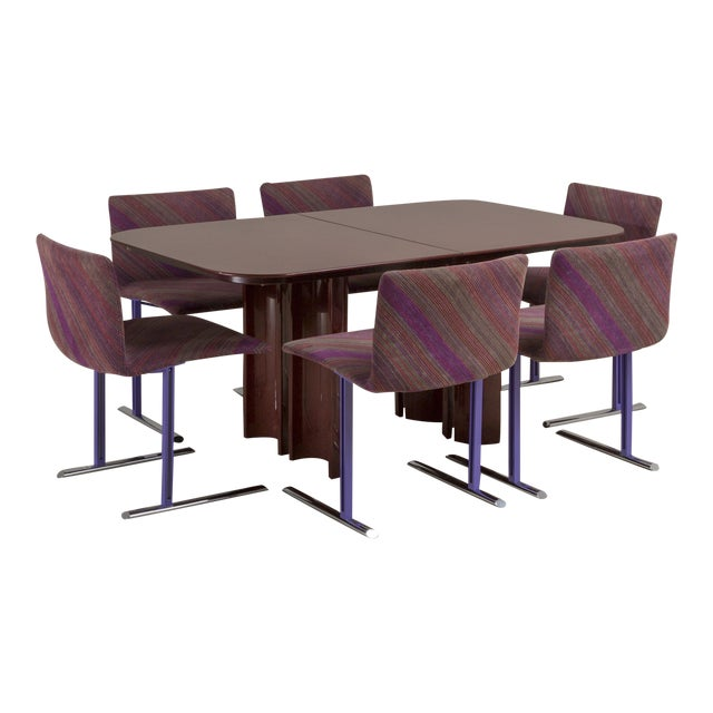 A Saporiti Designed Extendable Dining Table, 1990s For Sale