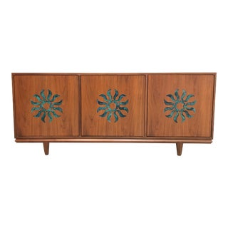 1960s Mid Century Modern Cal Mode Credenza For Sale