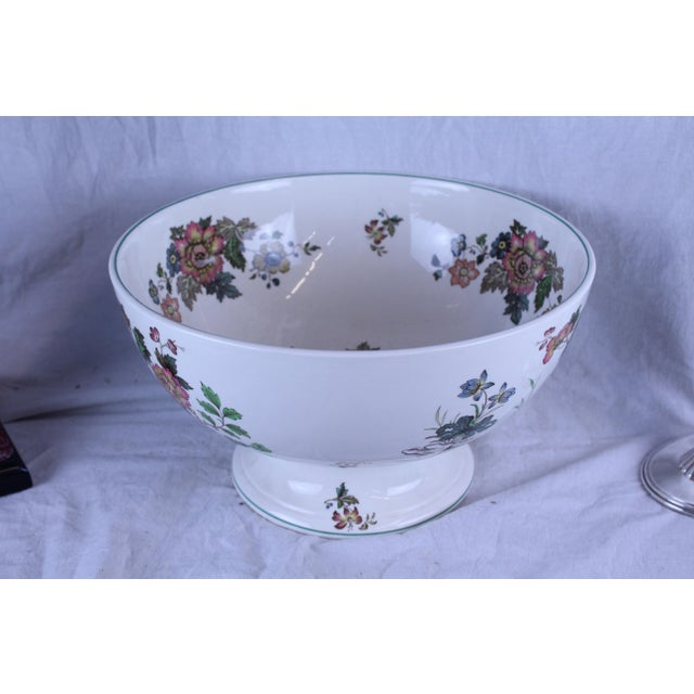 Ceramic 20th Century Asian Spode Punch Bowl For Sale - Image 7 of 7